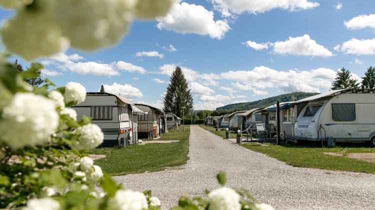 Der Streit auf demCampingplatz in Bad Zurzach ist mittlerweile auch ein Fall für die Verbandsspitze. DerSchweizerische Camping- und Caravaning Verband soll die Parteien an einen Tisch bringen. (Sandra Ardizzone)