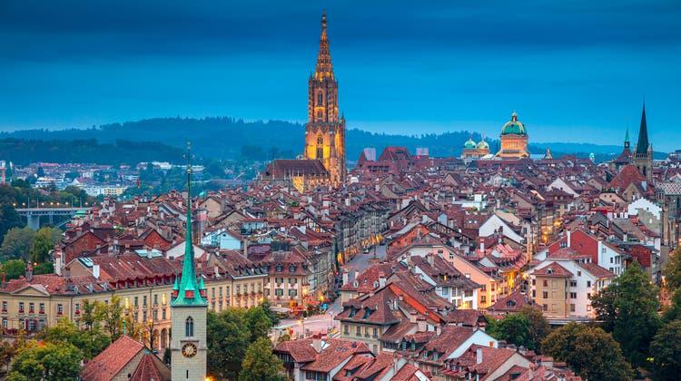 Viele haben in den letzten Monaten die Städte, wie hier Bern, verlassen. (Keystone)