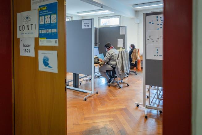 Tagelang konnte das Contact-Tracing-Center keine Isolations- und Quarantäneverfügungen verschicken.
