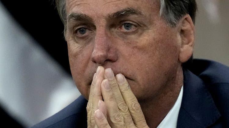 Brasiliens Präsident Jair Bolsonaro sieht sich mit harten Massnahmen konfrontiert. (Eraldo Peres / AP)