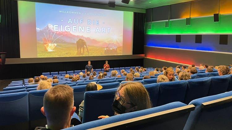 Die Vorpremiere fand im Cinewil statt. (Bild: PD)