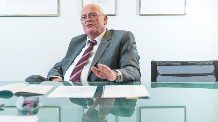 Markus Kägi (SVP) blitzte mit seiner Energiestrategie im Parlament ab. (Claudio Thoma)