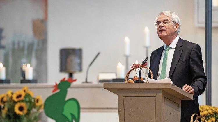 Kirchgemeindepräsident Theo Ehrsam tritt nach fast drei Jahrzehnten ab: Er hat manches Mal mit Gott gehadert