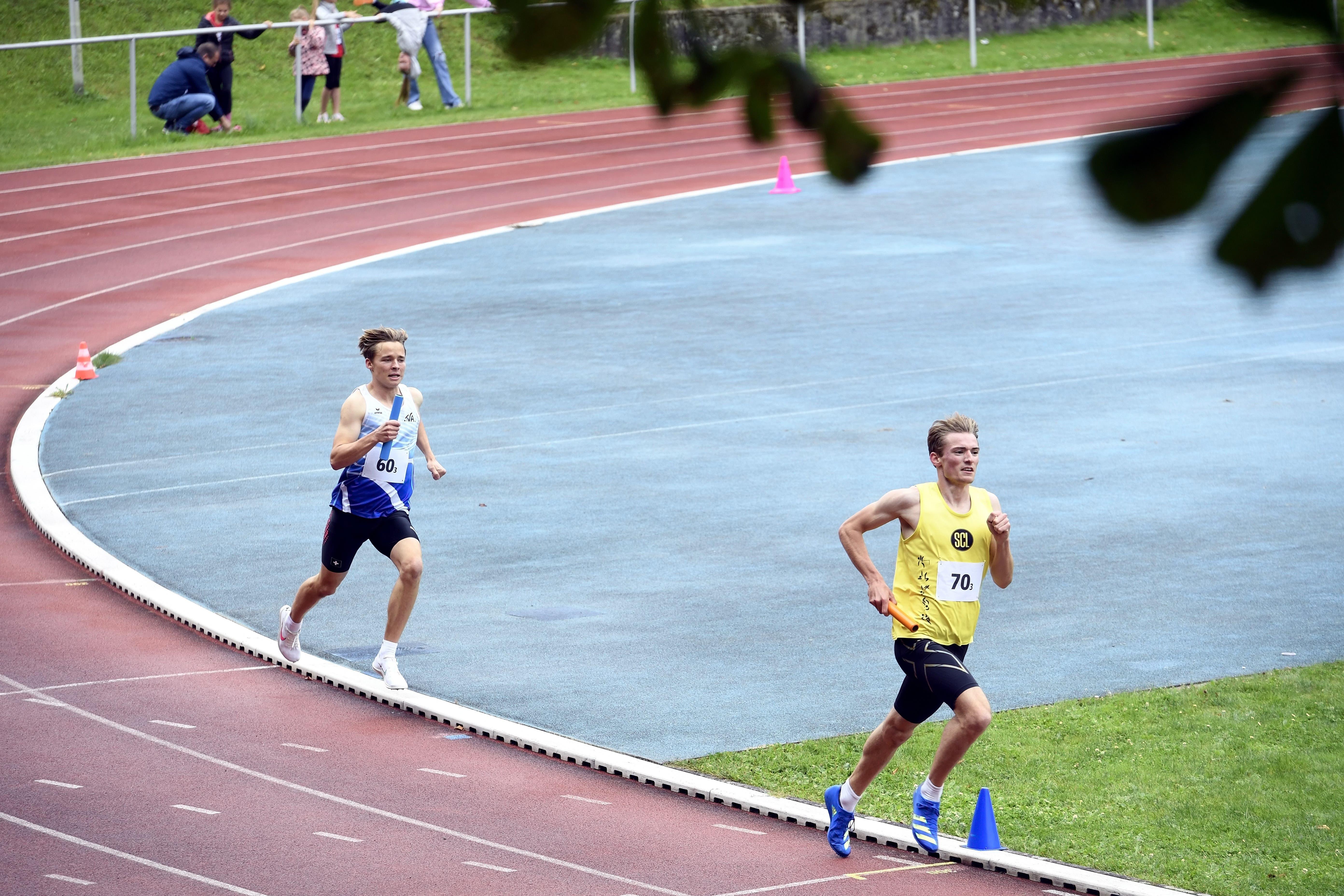Nach zwei Jahren ohne Wettkampf durfte der LV Baden-Wettingen an den kantonalen Staffelmeisterschaften 2021 auf Heimparkett antreten.