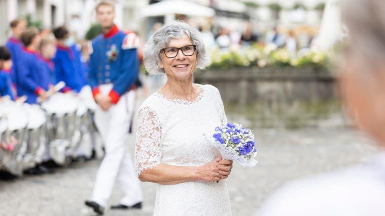 Es war ihr letztes Budget: Finanzvorsteherin und Noch-Vizeammann Franziska Möhl-Wey, hier am Jugendfest Lenzburg 2021. (Severin Bigler)