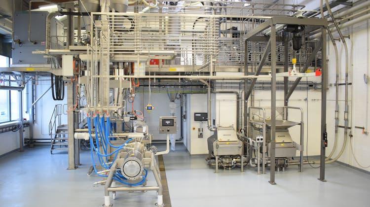 Am DIL befindensich Hightechanlagen zur Entwicklung nachhaltiger Lebensmittel wie Fleischersatz. (PD)
