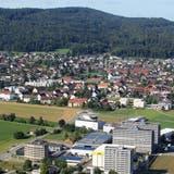 Die Grenze zwischen Birr (links) und Lupfig ist kaum auszumachen. (Bild: Claudia Meier (25. August 2015))