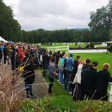 4500 Besucher genossen im Schachen einen tollen Rennsonntag. (Urs Helbling / Aargauer Zeitung)