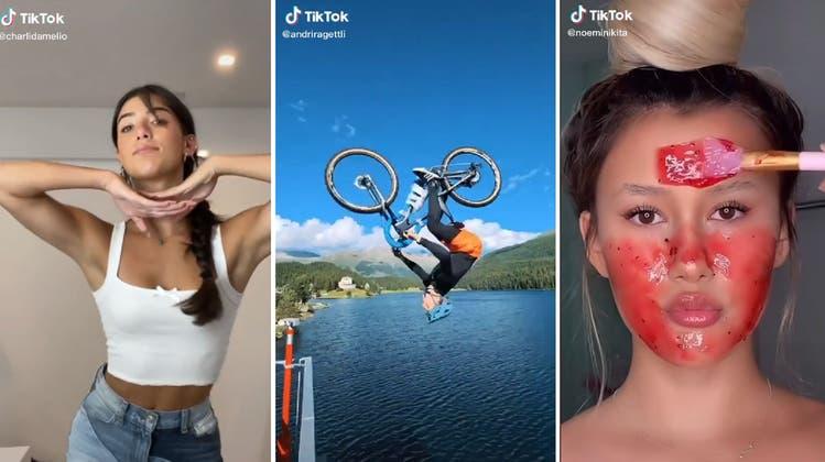 Beliebter als LucaHänni: Wer sind die Schweizer Stars auf der VideoplattformTiktok?