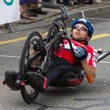 Tobias Fankhauserstartet an den Paralympischen Spielen in drei Disziplinen. (Bild:Beat Bättler)