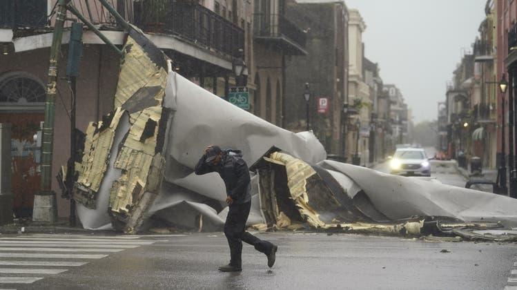 In der Stadt New Orleans wurden grosse Sachschäden gemeldet. (Keystone)