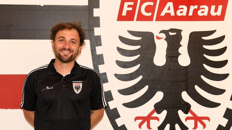 José Antonio Barcalanimmt am 1. September die Arbeit beim FC Aarau auf. (Rölli/FCA)