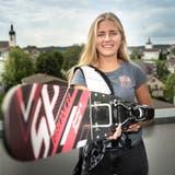 Um ihre sportlichen Ziele zu erreichen, ist Mara Bürge kein Weg zu weit. (Bild: Ralph Ribi)