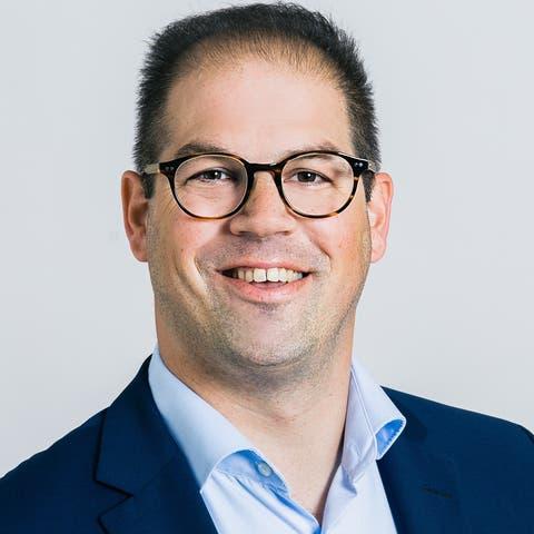 Steven Schraner (SVP) kandidiert für den Gemeinderat Würenlos.