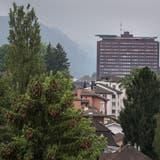 Das Luzerner Kantonspital. Fotografiert am 22. Juli 2016, vom Maihof Kirchturm aus.(Neue LZ/Boris Bürgisser)SpitalLUKS (Boris Bürgisser(neue Lz) / Neue Luzerner Zeitung)