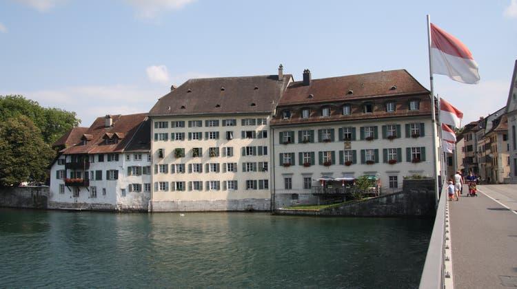 Blick auf das Bürgerhaus in der Vorstadt. (Wolfgang Wagmann / Archiv)