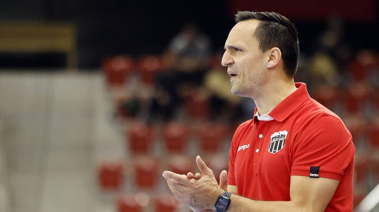 Der neue starke Mann an der Seitenlinie: Goran Cvetkovic. (Michael Buholzer/Keystone)