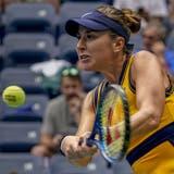 Belinda Bencic steht souverän in der zweiten Runde der US Open. (John Minchillo / AP)