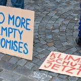 Strike For Future, Klimademo in Aarau und Baden, 21. Mai 2021. (Alex Spichale)