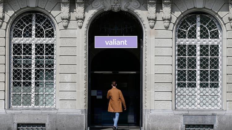 Mehr Gewinn und neue Filialen: Valiantsetzt ihren Wachstumskurs fort. (Symbolbild) (Keystone)