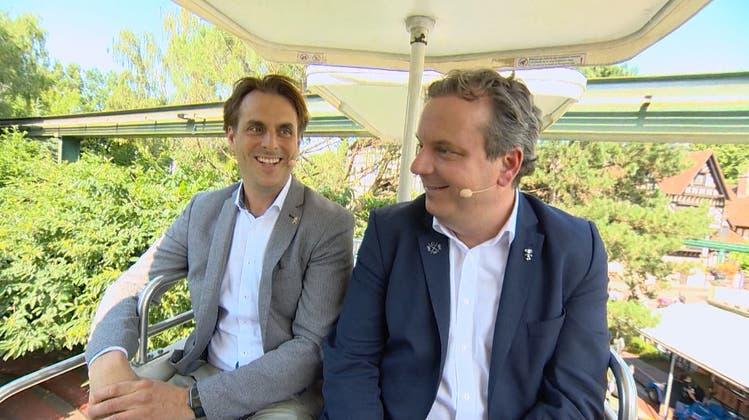 Chefs des Europaparks über die Kindheit im Park: «Die Schweizer Bobbahn sind wir mit dem Skateboard hinuntergefahren»