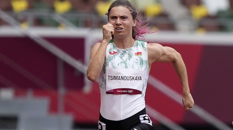 Belarussische Leichtathletin Timanowskajaauf dem Weg nach Polen ++ BoulderinKlingler verpasst Finaleinzug
