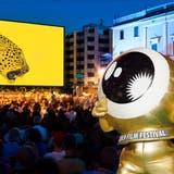 Das Goldene Auge aus Zürich braucht sich nicht zu verstecken vor dem Goldenen Leoparden aus Locarno. (Montage: Locarno Film Festival/Getty Images)