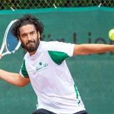 Trimbachs Mann der Begegnung: Adam Moundir gewann sein Einzel in Extremis und legte im Doppel mit Pedro Martinez nach. (Fabio Baranzini)