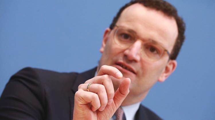 Will Druck auf Impfskeptiker erhöhen: Der deutsche Gesundheitsminister Jens Spahn (Christian Marquardt / 29. Januar 2021)