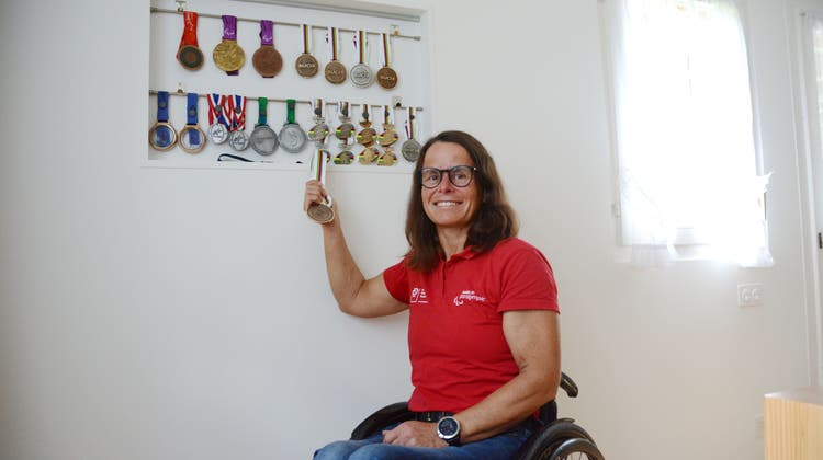 Sandra Graf hofft, an ihrer letzten Olympia-Teilnahme eine weitere Medaille zu gewinnen. (Bild: Karin Erni)
