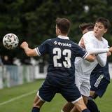 Für die jungen Wiler gab es kein Durchkommen. Gegner FC Uzwil spielte sich in den Final gegen Bazenheid. (Bild: Michel Canonica)