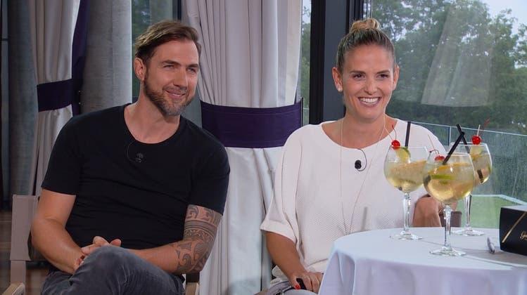Auch privat ganz schön witzig: «Divertimento»-Komiker Manu Burkart und seine Michèle im TV-Talk