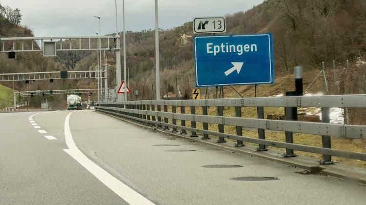 Die knapp zehn Kilometer der A2 von Sissach nach Eptingen werden saniert. (© Bundesamt für Strassen (Astra))