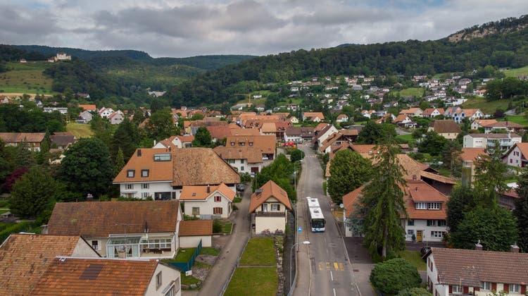 Wohin steuert das Dorf? Blick auf Lostorf. (Patrick Luethy)