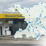 Preisvergleich Tankstellen 2021: Discount-Tankstelle in Holderbank (Ann-Kathrin Amstutz)