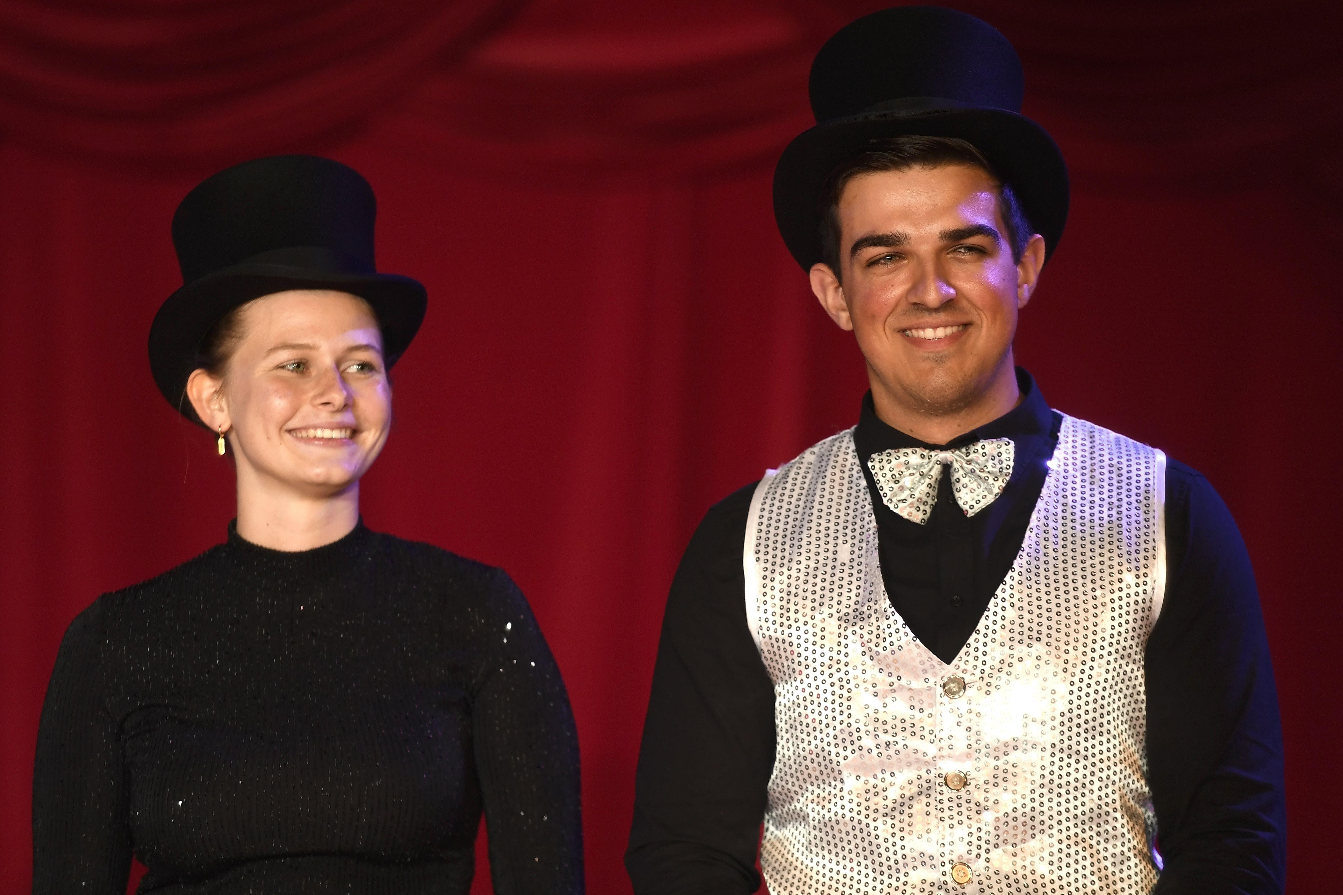 Nina Heggnauer und Joël Demierre bei der Premiere am vergangenen Freitag.