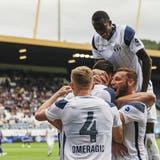 Der FC Zürich kann derzeit viel jubeln. (Christian Merz / KEYSTONE)
