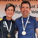 Ein Bernecker Ehepaar feiert einen «Doppelsieg» im Sprint-OL