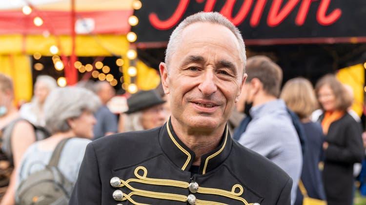 Zirkusdirektor Johannes Muntwylerist zuversichtlich: Das Schutzkonzept hat sich bewährt. (Claudio Thoma (6. August 2021))