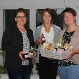 Präsidentin Marlies Brändle, Kassierin Barbara Ott und Aktuarin Angela Strassmann (von links) repräsentieren den neu gegründeten Verein. (Bild: Fränzi Göggel)