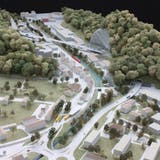 Pläne zur Verkehrsanbindung Thal. (Zvg)