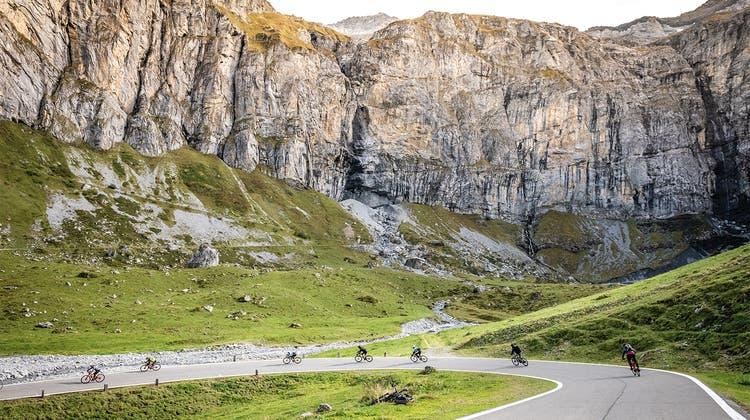 Das «Ride the Alps» hat schon 2018 auf dem Klausenpass stattgefunden. (Bild: PD)