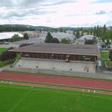 Die Sporthalle Güttingersreuti wurde für knapp vier Millionen saniert. (Bild: Mario Testa)