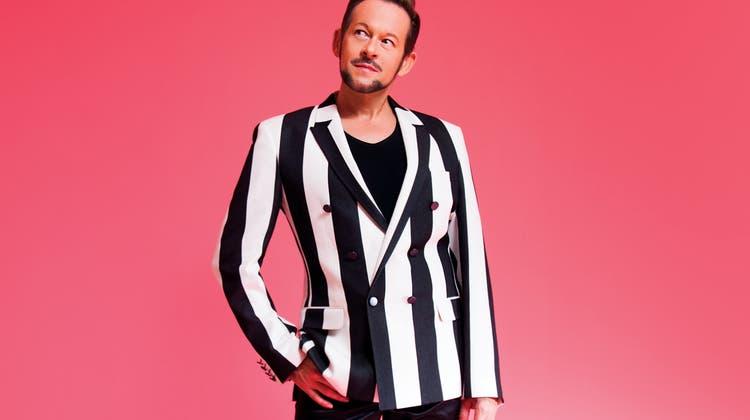 Michael von der Heide: Ein Mann mit Stil, eingekleidet von seinem Partner, dem Designer Willy Spiess. (Patrick Mettraux)