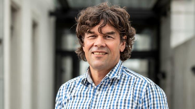 Gemeinderat, Grossrat und ETH-Landwirt Thomas Baumann (Grüne/Zukunft Suhr) dürfte neuer Vizegemeindepräsident werden. (Valentin Hehli)