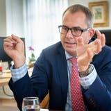 Der Thurgauer SVP-Regierungsrat Urs Martin im Interview. (Bild: Ralph Ribi)
