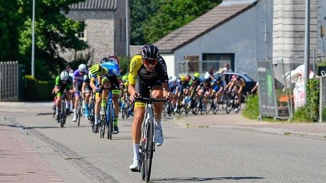 Jan Christen in Belgien in Aktion. (Cyclingsite)