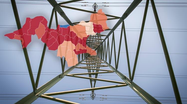 Ab 2022 müssen die allermeisten Fricktaler für den Strom tiefer in die Tasche greifen. (Symbolbild Benjamin Manser)