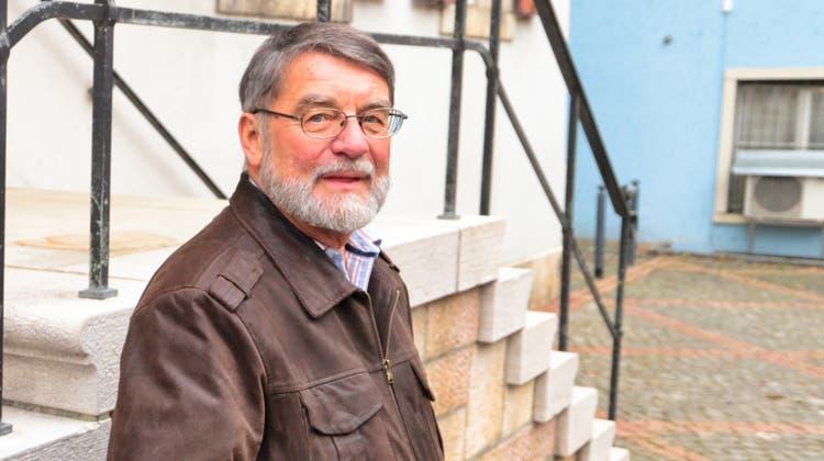 Heinz Aebi war einer der grössten Kämpfer für einen Wechsel des Laufentals zum Kanton Baselland. (zvg)
