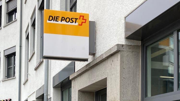 Die Poststelle am Cordulaplatz bleibt nur noch bis Ende Oktober geöffnet. (Pirmin Kramer)